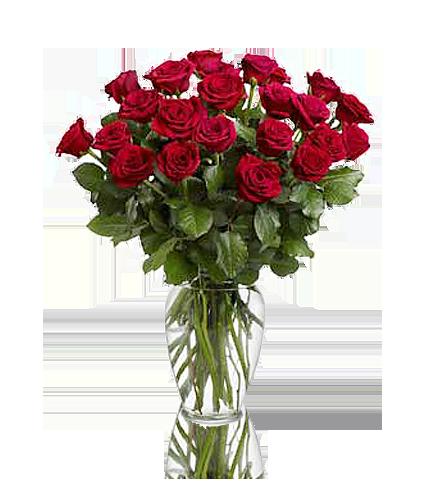 Jarra de rosas